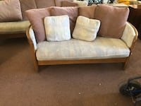 white and brown fabric loveseat El Paso, 79936