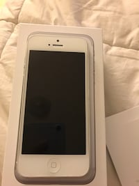 silver iPhone 6 in box