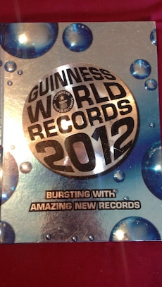 Guiness World Records 2012 book