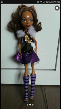 Monster High Puppe ( als Wolf ) Recklinghausen, 45661