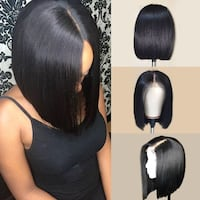 10inch Peruvian Lace Front Bob