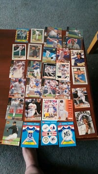 Assorted baseball  cards Baltimore, 21205