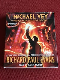 Michael Vey book 4 hunt for Jade Dragon audio book by Richard Paul Evans Clifton, 20124