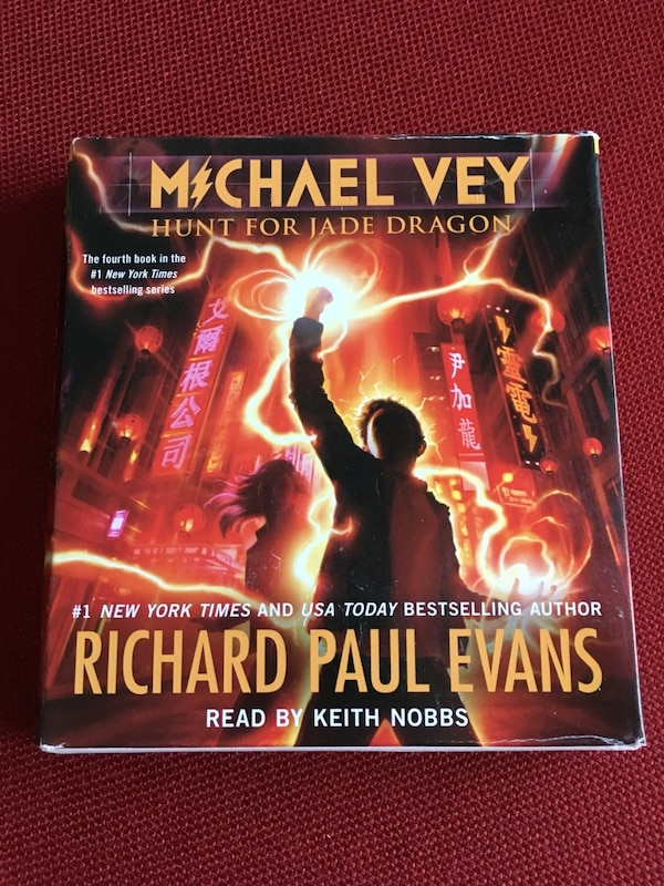 Michael Vey book 4 hunt for Jade Dragon audio book by Richard Paul Evans