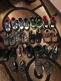 assorted pairs of shoes and sandals Oxnard, 93033