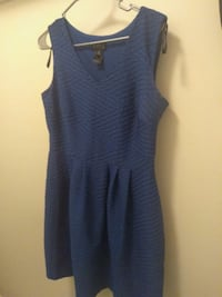 Women's Blue V-Neck Blue Dress Size 12  Fayetteville, 28311