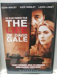 The Life of David Gale dvd Baltimore