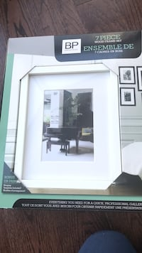 NEW unused white 7 piece gallery picture frames Toronto, M5J
