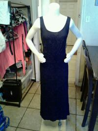 New Navy blue Maxi dress Large  Riverside, 92507
