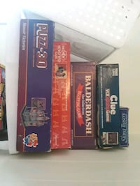 Vintage board games all pieces are there