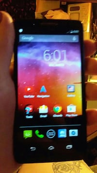 black Samsung Galaxy android smartphone Coulterville, 62237