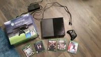 black Xbox One console with controller and game ca Nisku, T9E 8J8