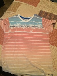 toddler's white and pink stripe shirt Greensboro, 27405