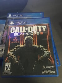 Call of Duty Black Ops 3 PS4 game case St. François Xavier, R4L 1A9
