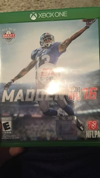 madden nfl 16 Xbox one McLean, 22101