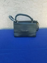 black leather Michael Kors handbag Surrey, V3T 3Y4