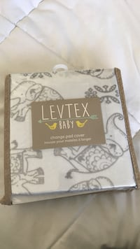 BRAND NEW LEVTEX BABY CHANGE PAD COVER South San Francisco, 94080