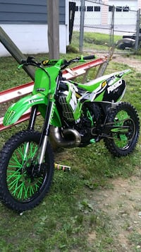 1999 kx 250 with custom front fenders  Dallas, 30157