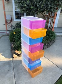 Stackable storage bins Martinez, 94553