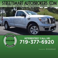 2017 Nissan Titan SV Colorado Springs, 80905