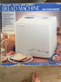 Bread machine works great bought and never used. Has been in box Central, 70818