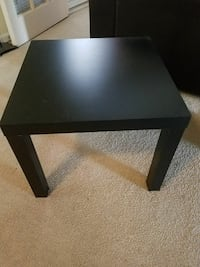 Pair of Ikea square tables