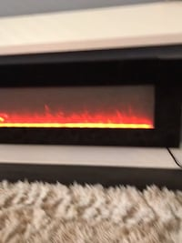 42in Electric Wall Fireplace