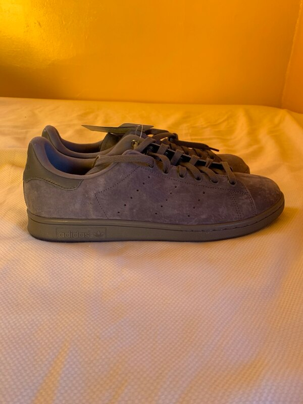 0a820a8bbdd Used Adidas Stan Smith Low Grey Suede Size 12 Deadstock Brand New for sale  in Binghamton - letgo