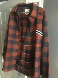 Urban Outfitters Flannel Coat Port Moody, V3H 4K7