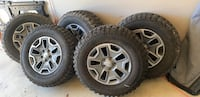 Jeep Rubicon Wheels and Tires - 5 Bensville, 20695