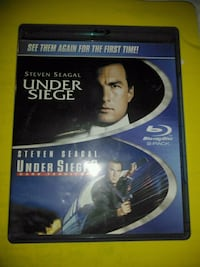 Under Seige, Under Seige II DVD Blueray!