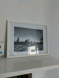 white wooden frame (Crate and Barrel) Vancouver, V6E 1A5