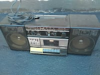 $40 for vintage Fisher stereo boombox component Toronto