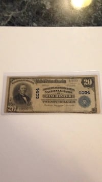 1902 national bank note. This is a large bill . Winchester, 22602