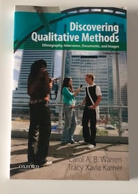 Discovering qualitative methods by Carol Warren and Tracy Karnee  Mississauga, L5R 4C1