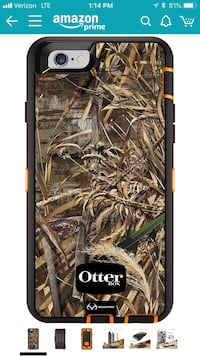 brown and black real tree camouflage smartphone case 6S. For a new phone and it's a different model. 3 months old  Westland, 48185