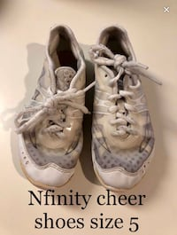 NFinity Vengeance  cheer shoes size 5 Copper Canyon, 75077