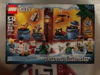2018 LEGO City Advent Calendar Manassas, 20112