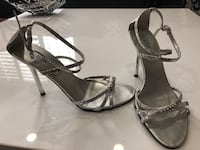 Guess silver heels with stones. Size 6 Tempe, 85281