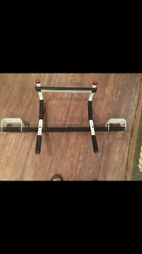 Multi gym pull up bar for door