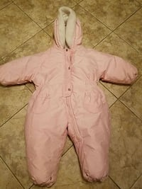 Baby girls pink snow suit 24min brand new Toms River, 08753