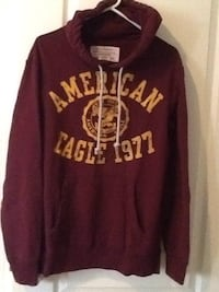 maroon and white Pink by Victoria's Secret hoodie Surrey, V4N 5H1