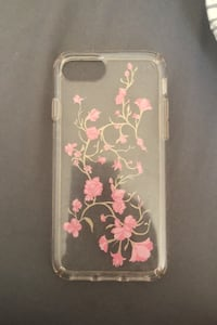 iPhone 6s Clear Flower Case