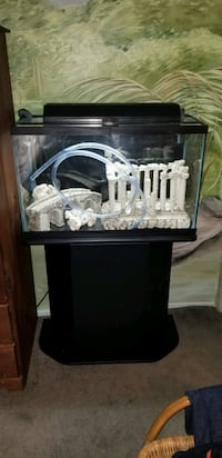 30 gallon fish tank with stand and accessories Des Plaines, 60016