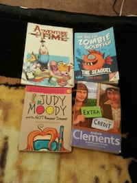 four assorted story books McComb, 39648