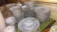 white ceramic plates and bowls Pine Bush