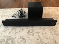 Sound bar and subwoofer  Warrenton