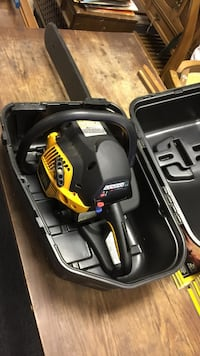 Yellow and black chainsaw with case Harrisonburg, 22801