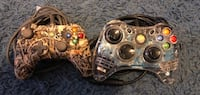 Xbox 360 wired light up controllers  $12All Crest Hill, 60403