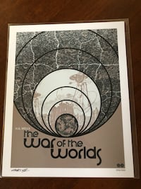 """The War Of The Worlds Licensed 8"""" x 10"""" Art Print"""